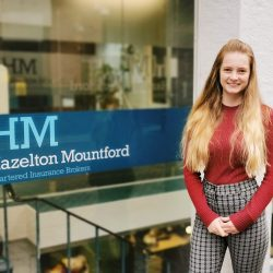 Promotion for Veronique Veillet to Senior Account Handler at Hazelton Mountford Insurance